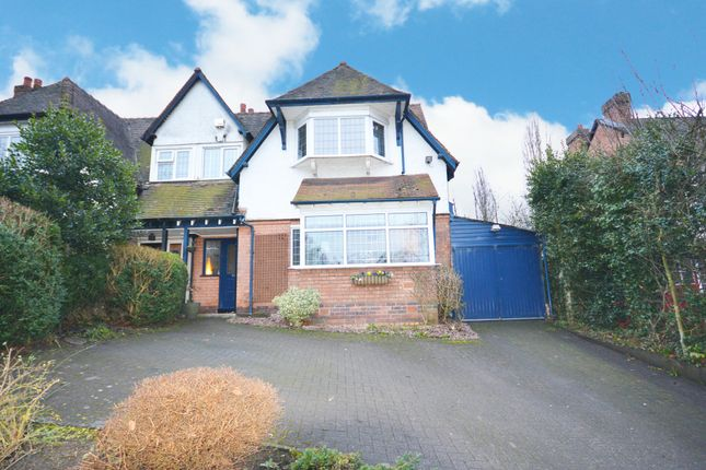 Thumbnail Semi-detached house for sale in Green Road, Hall Green, Birmingham