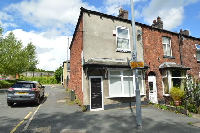 Thumbnail End terrace house for sale in Stanley Road, Whitefield, Manchester