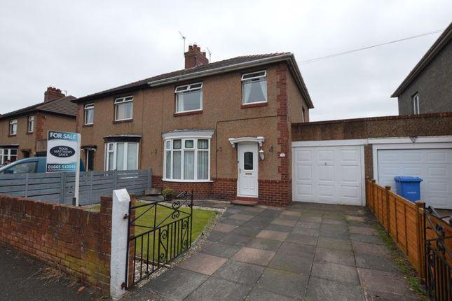 3 bed semi-detached house for sale in Greensfield Avenue, Alnwick NE66