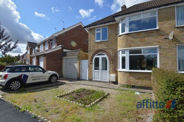 3 bed semi-detached house for sale in East Way Road, Wigston, Leicester