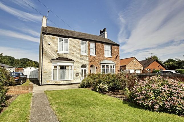 Thumbnail Semi-detached house for sale in New Road, Hedon, Hull