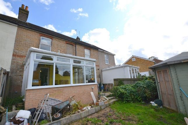 Thumbnail Terraced house for sale in Curtis Road, Parkstone, Poole
