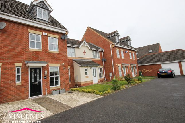 Thumbnail Town house for sale in Jewsbury Way, Thorpe Astley