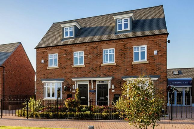 "Thumbnail Semi-detached house for sale in ""Kennett"" at Blenheim Close, Stafford"