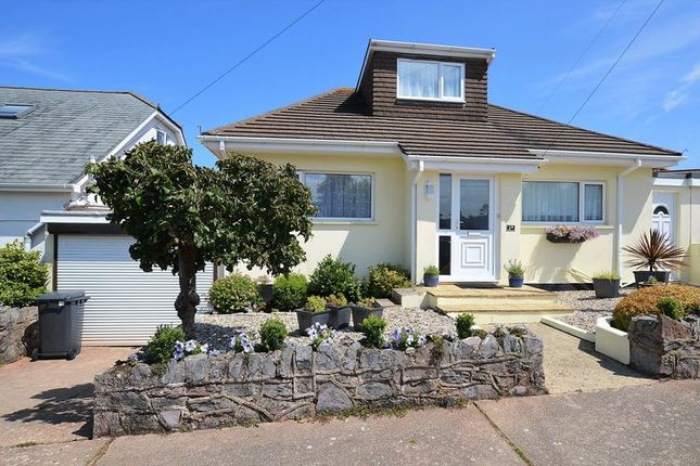 Thumbnail Bungalow for sale in Horseshoe Bend, Goodrington, Paignton.