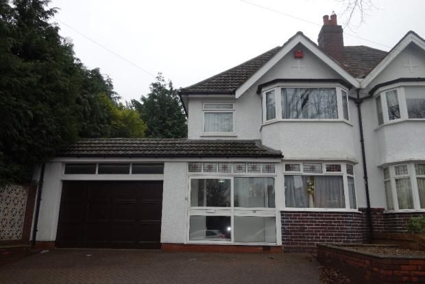 Thumbnail Semi-detached house to rent in Lakey Lane, Solihull
