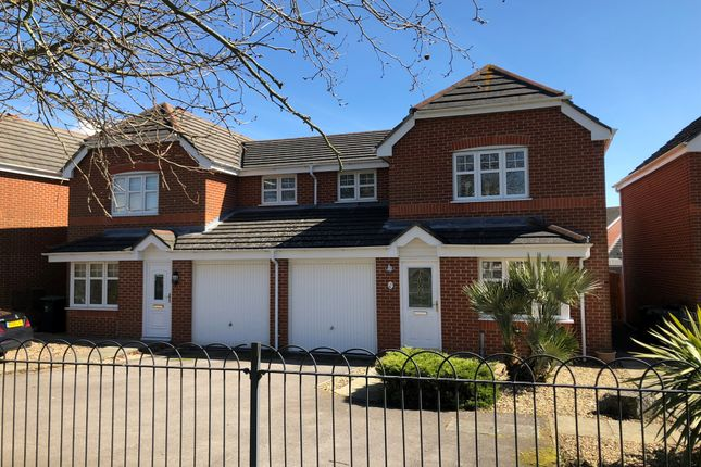Thumbnail Semi Detached House For Sale In Falcon Close Priddys Hard Gosport