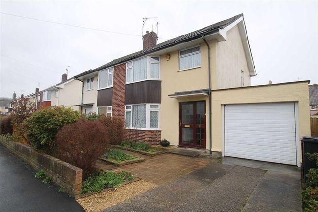 Thumbnail Semi-detached house for sale in Church Leaze, Shirehampton, Bristol