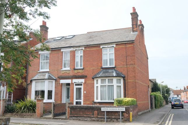 Thumbnail Semi-detached house for sale in Upper Roman Road, Old Moulsham, Chelmsford