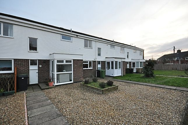 Thumbnail Terraced house for sale in Stannard Close, Roydon, Diss