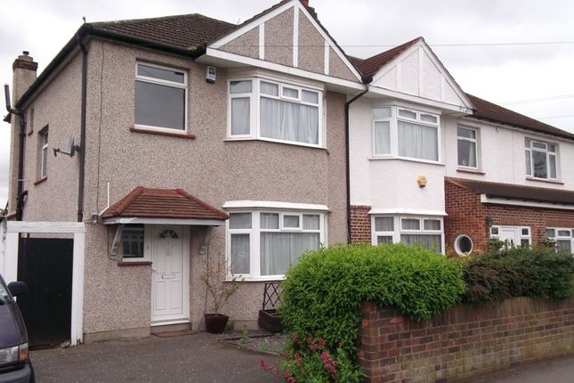 Thumbnail Semi-detached house to rent in Petersfield Road, Staines