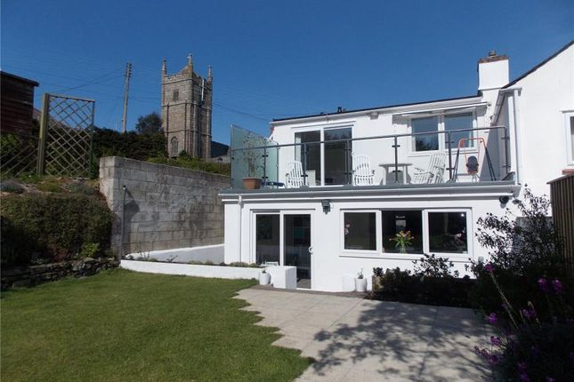 Thumbnail End terrace house for sale in Phillack Hill, Phillack, Hayle