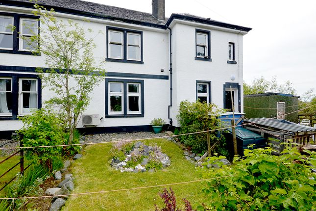Thumbnail 3 bed flat for sale in Flat 1, Morven View, Salen