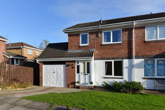 Thumbnail Semi-detached house for sale in Butterburn Close, Carlisle