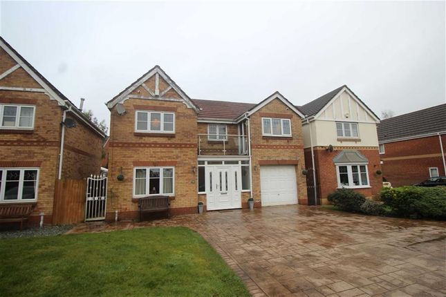 Thumbnail Detached house for sale in Botesworth Close, Hindley Green, Wigan