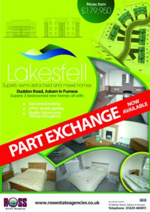 Thumbnail Terraced house for sale in Lakesfell, Askam-In-Furness