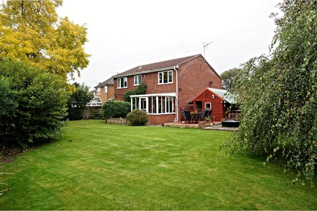 Thumbnail Detached house for sale in Octagon Drive, Wisbech