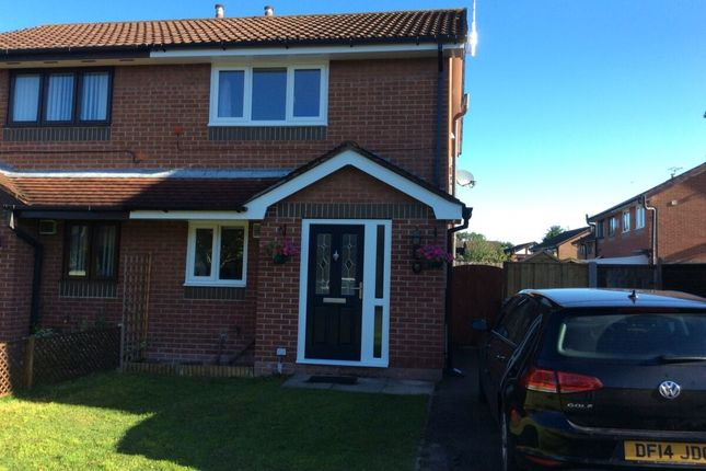 Thumbnail Semi-detached house to rent in Kestrel Drive, Crewe