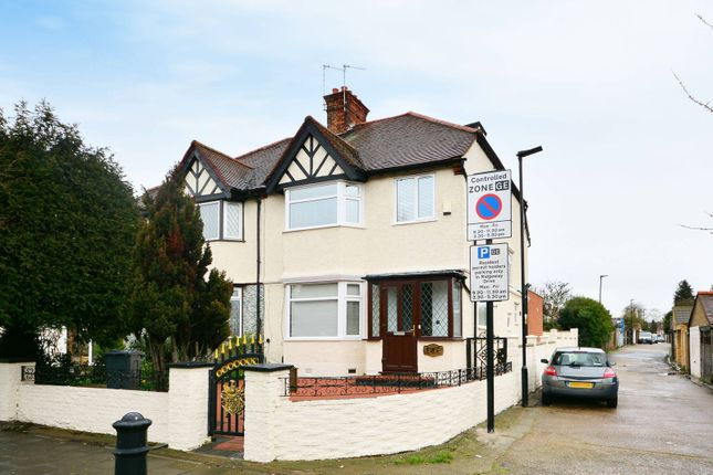 Thumbnail Semi-detached house to rent in Gunnersbury Avenue, Gunnersbury Triangle