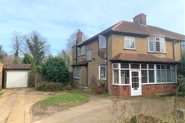 4 bed semi-detached house for sale in Woodcote Road, Purley CR8