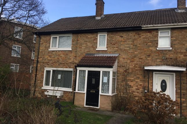 Thumbnail End terrace house to rent in Dunelm Walk, Peterlee