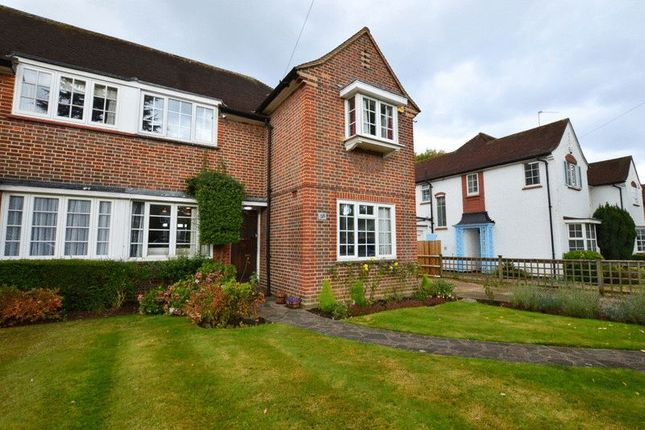 Thumbnail 3 bed semi-detached house for sale in Grimsdyke Road, Hatch End, Pinner