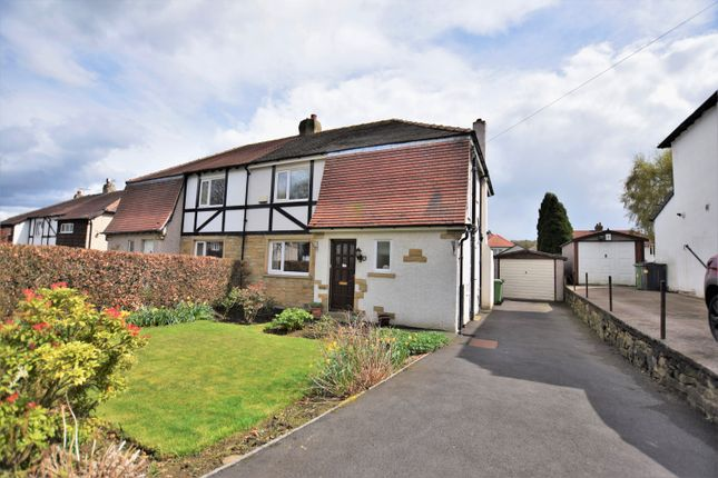 Thumbnail Semi-detached house for sale in Broadgate Crescent, Almondbury, Huddersfield, West Yorkshire