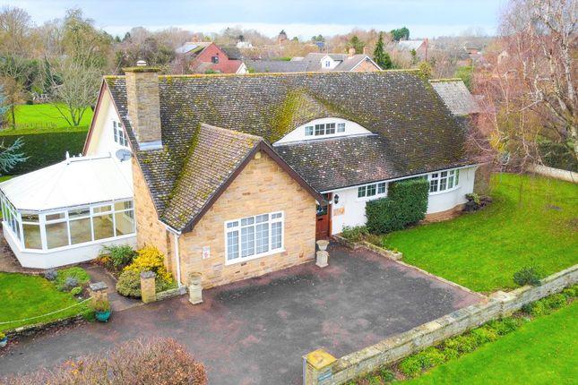 Thumbnail Detached bungalow for sale in North Road, Alconbury Weston, Huntingdon