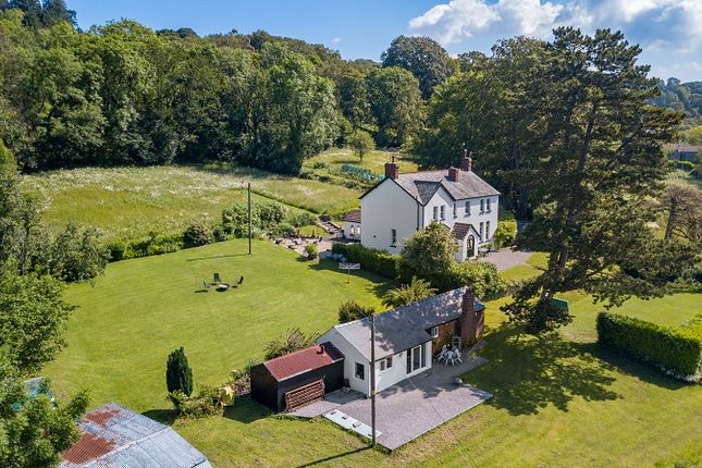 Thumbnail Detached house for sale in Hewelsfield, Lydney, Gloucestershire.