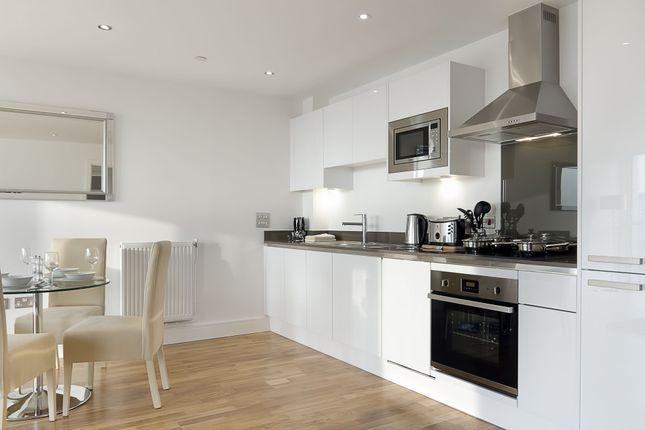 Kitchen of Admirals Tower, 8 Dowells Street, New Capital Quay, Greenwich, London SE10