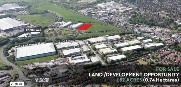 Thumbnail Land for sale in Phase 2 - Land, Valley Court, Middlewich, Cheshire
