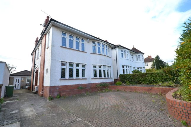 Thumbnail Detached house for sale in Cyncoed Road, Cyncoed, Cardiff