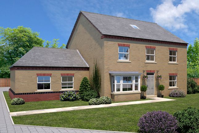 Thumbnail Link-detached house for sale in The Harewood, Elmete Lane, Roundhay, Leeds