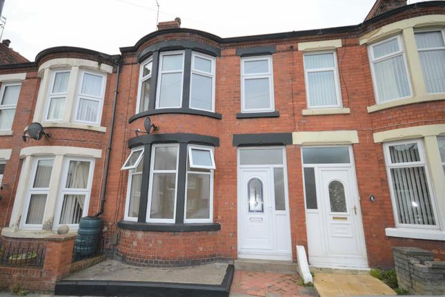 Thumbnail Terraced house to rent in Norwood Road, Wallasey