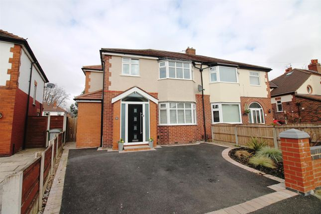 4 bed semi-detached house for sale in Cumberland Road, Urmston, Manchester