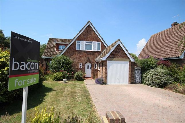 Thumbnail Detached house for sale in Ashurst Close, Goring Hall, West Sussex