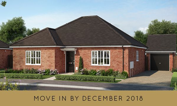 "Thumbnail Bungalow for sale in ""The Harston"" at Bury Water Lane, Newport, Saffron Walden"