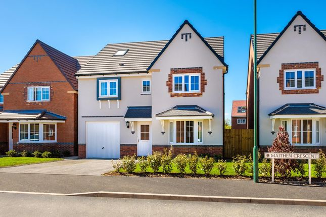 "Thumbnail Detached house for sale in ""Somerfield"" at Saxon Court, Bicton Heath, Shrewsbury"