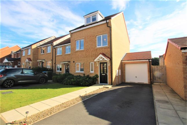 Thumbnail Link-detached house for sale in Bradford Drive, Bishop Auckland