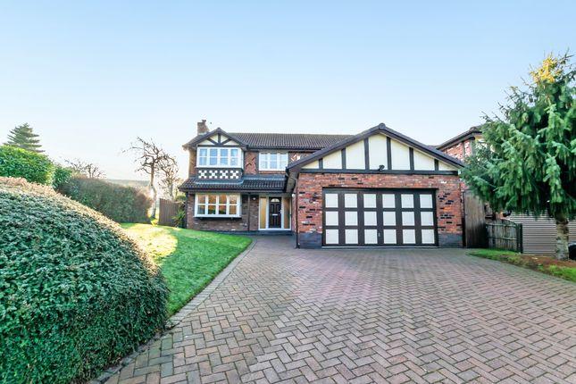 Thumbnail Detached house for sale in Chessington Close, Appleton, Warrington