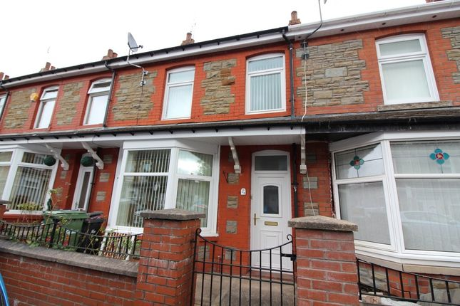 Thumbnail Terraced house to rent in William Street, Blackwood