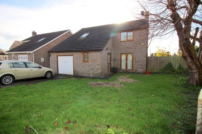 Thumbnail Detached house to rent in Priory Oak, Brackla, Bridgend.