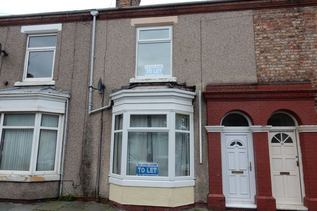 Thumbnail Terraced house to rent in Heslop Street, Thornaby