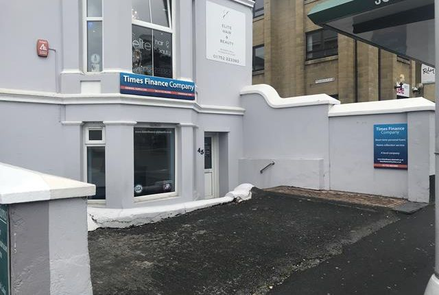 Thumbnail Office to let in 45 North Hill, Plymouth, Devon