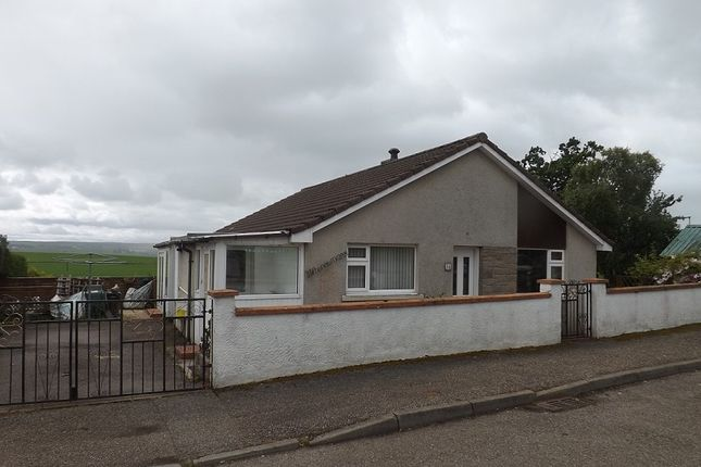 Thumbnail Detached bungalow for sale in Obsdale Park, Alness