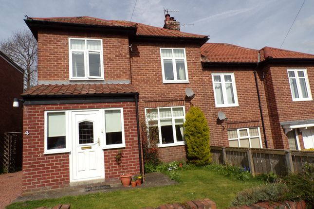 Semi-detached house for sale in Alexandra Crescent, Hexham