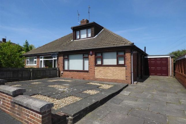 Thumbnail Semi-detached bungalow for sale in Moorside Road, Werrington, Stoke-On-Trent