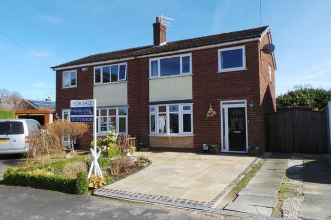 3 bed semi-detached house for sale in Silverdale Close, Hoghton, Preston
