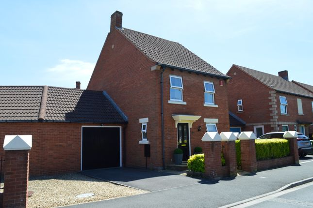 Thumbnail Link-detached house for sale in Longridge Way, Weston-Super-Mare