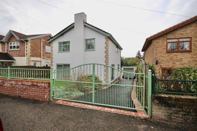 Thumbnail Detached house for sale in Waun Goch Road, Oakdale, Blackwood